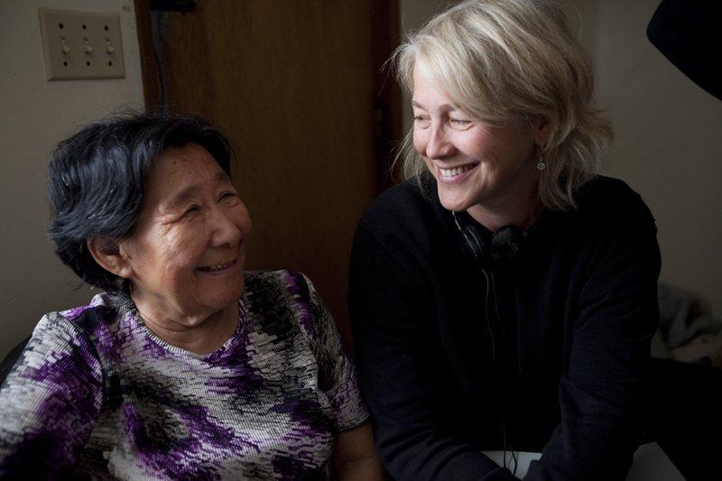Madeline Piujuq Ivalu and Marie-Hélène Cousineau, co-directors of Uvanga (2013)