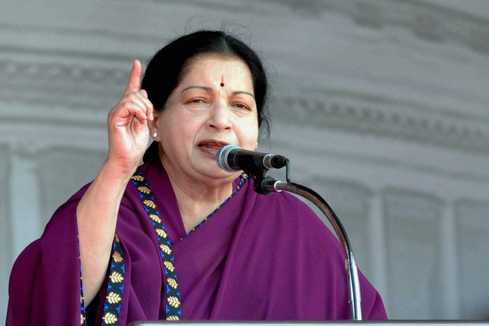 Jayalalithaa the politician