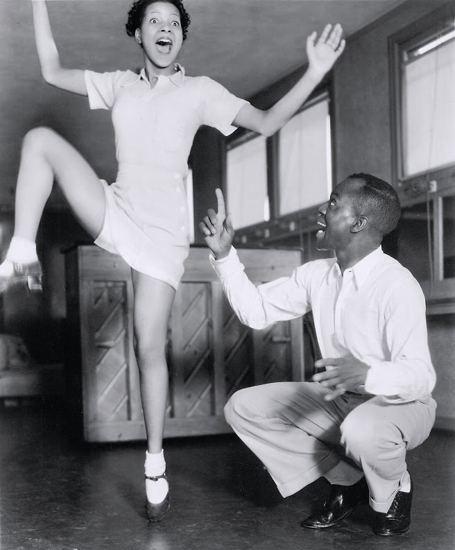 Hooray for Love (1935): Jeni LeGon and Bill 'Bojangles' Robinson