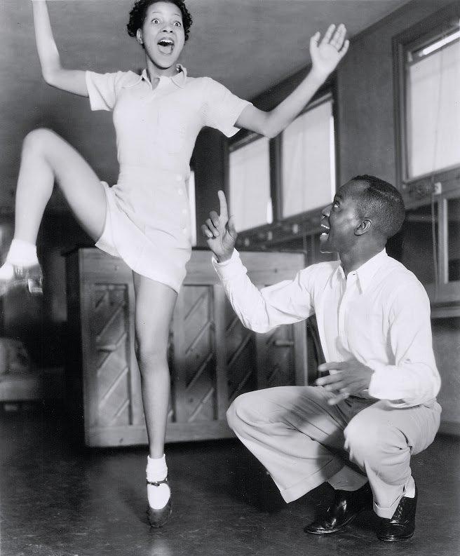 Hooray for Love (1935): Jeni LeGon and Bill 'Bojangles' Robinson