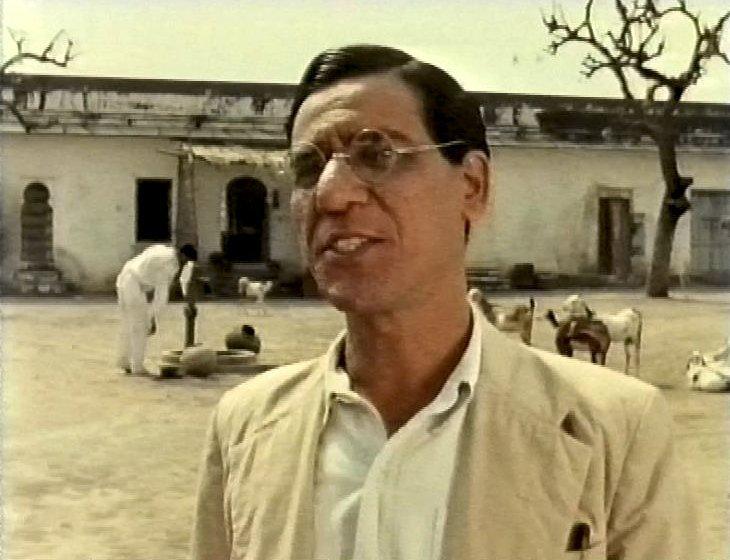 As Mr De Souza in The Jewel in the Crown (1988)
