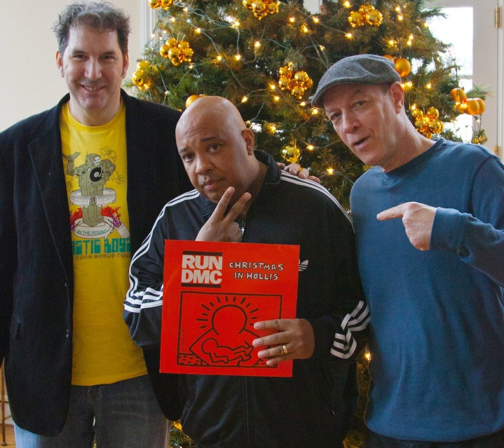 Director Mitchell Kezin, Run DMC's Russell Simmons and former Def Jam executive Bill Adler in Jingle Bell Rocks! (2014)