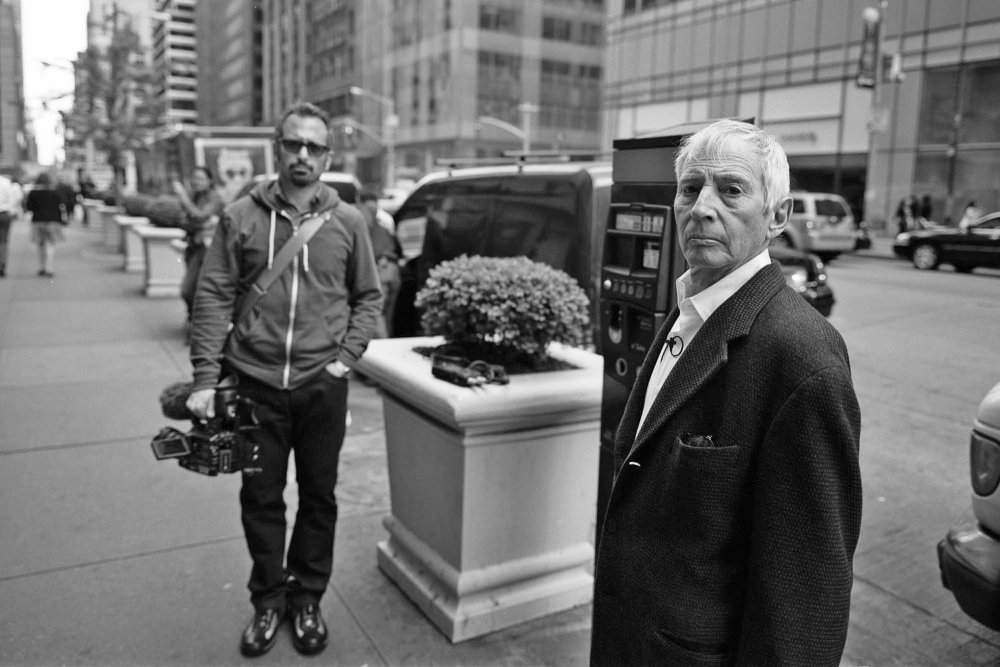 Andrew Jarecki with Robert Durst