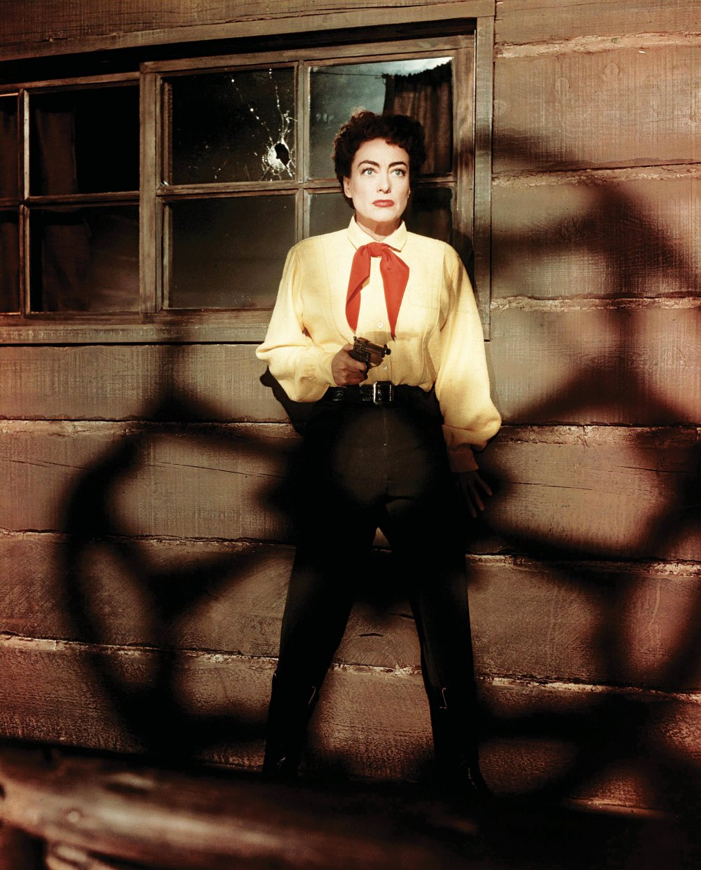 Oh Vienna: Joan Crawford plays the strong-willed saloon keeper in Nicholas Ray's operatic, melodramatic Johnny Guitar (1954)