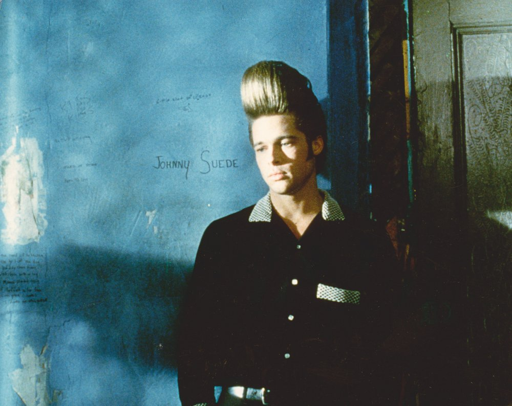 Brad Pitt as the title character of Johnny Suede (1991)