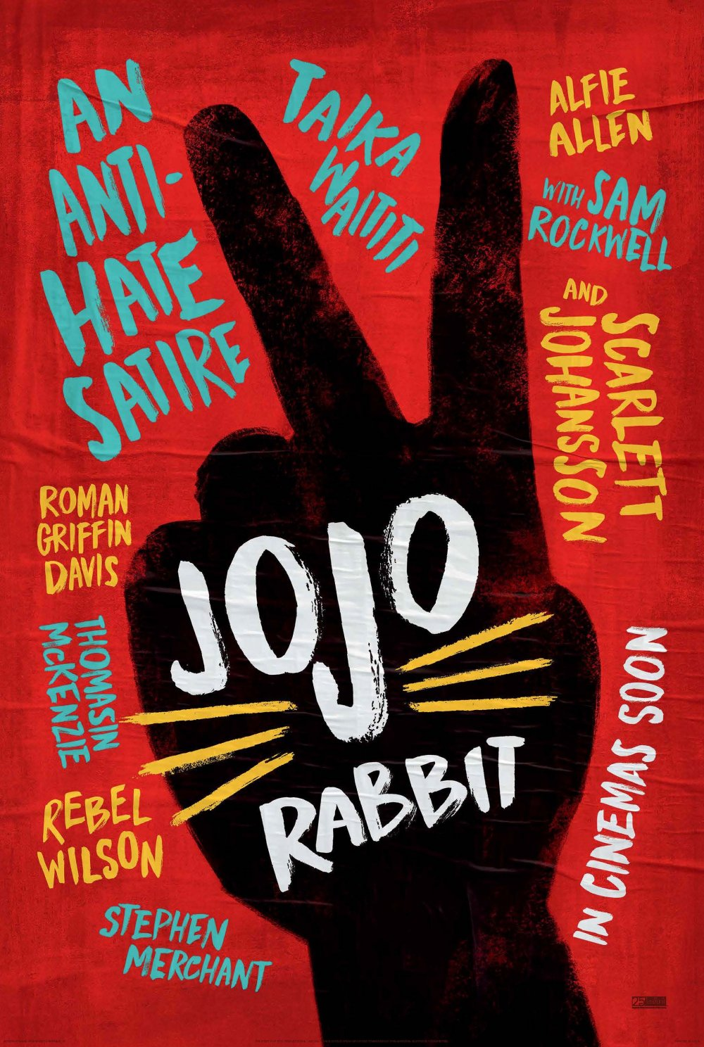 <strong>Jojo Rabbit </strong> Taika Waititi delivers an exuberant and irreverent comedy about challenging dogma and hate