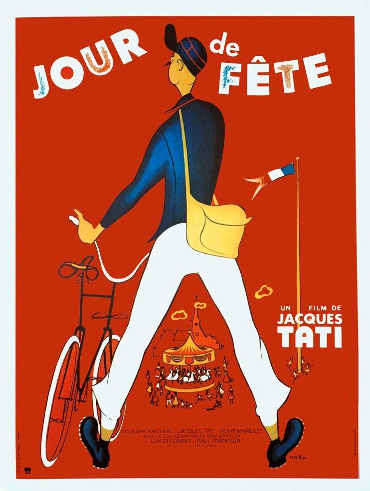 Jour De Fete Barentin : jacques tati vintage poster art bfi ~ Dailycaller-alerts.com Idées de Décoration