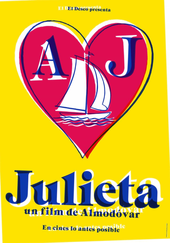 A poster for Pedro Almodóvar's Julieta (2016)