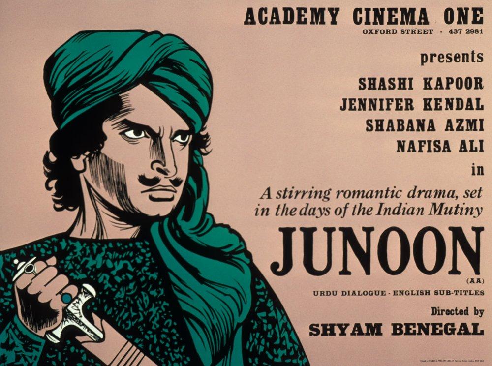 Junoon (1978) poster