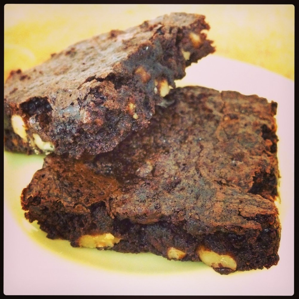 Katharine Hepburn's chocolate brownies