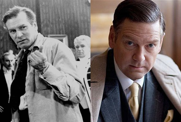 Laurence Olivier, as played by Kenneth Branagh in My Week with Marilyn (2011)