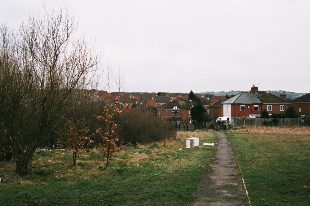 Kes (1969) modern location shot