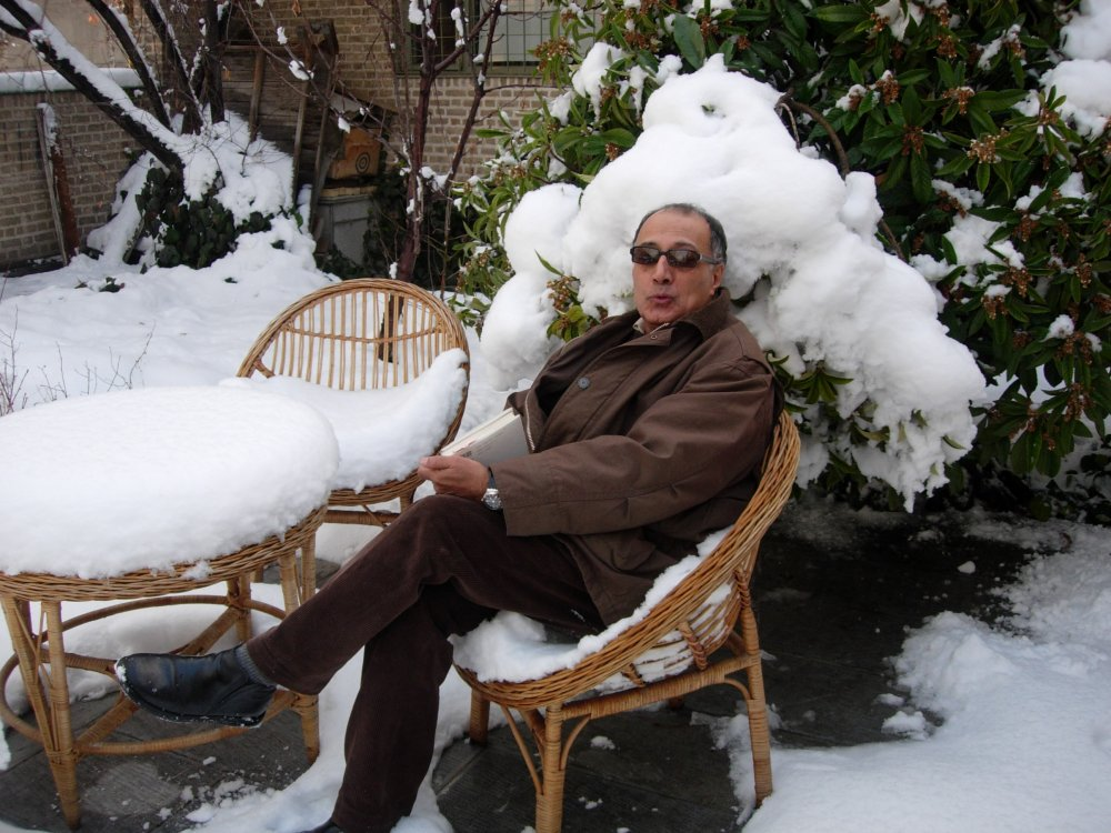 Abbas Kiarostami as he appeared in Mark Cousins' The Story of Film: An Odyssey (2011)