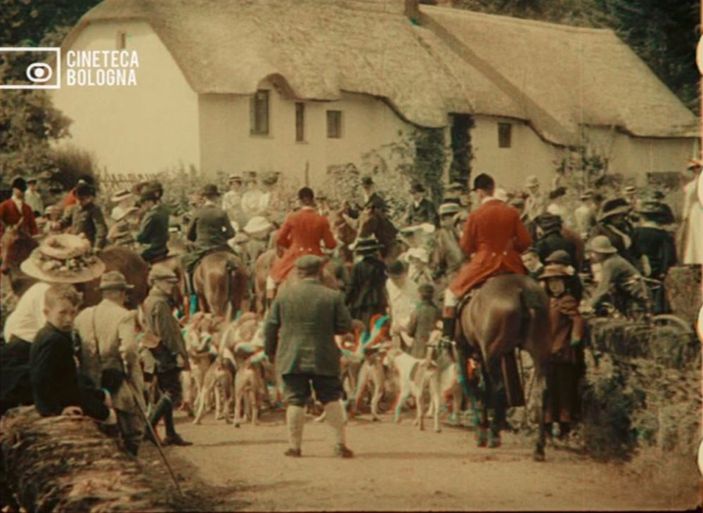 A Run with the Exmoor Staghounds (1911)