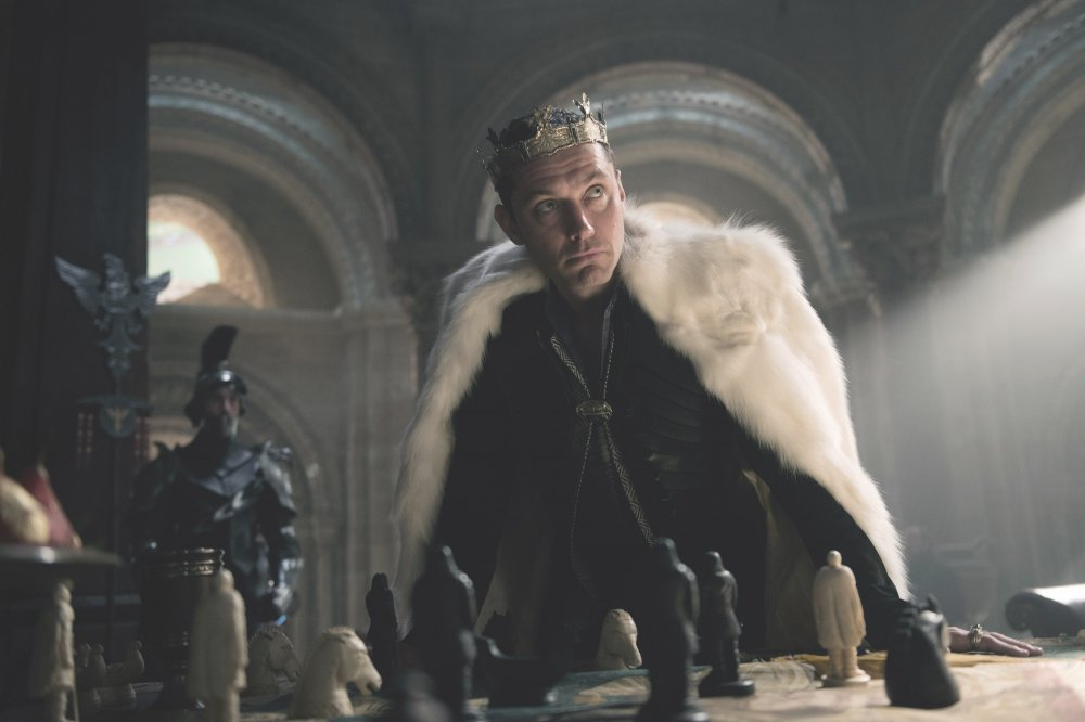 Jude Law as Vortigern