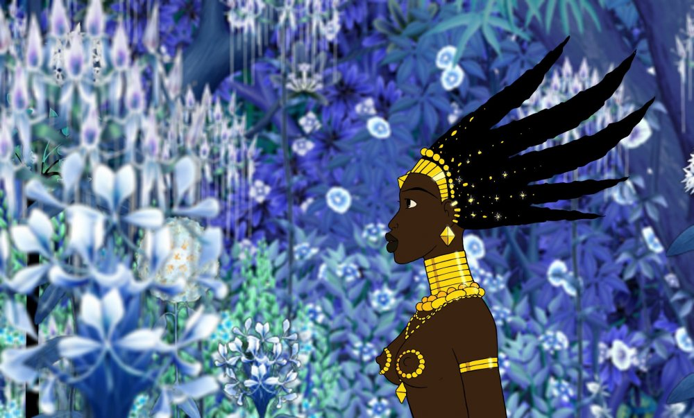 Kirikou and the Sorceress (Kirikou et la sorcière, 1998)