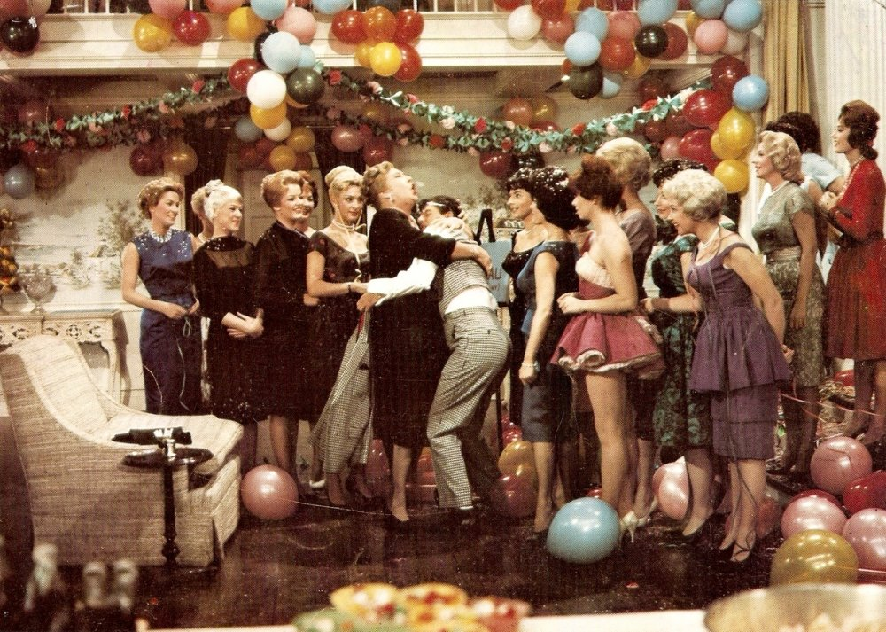 Lewis in The Ladies' Man (1961)