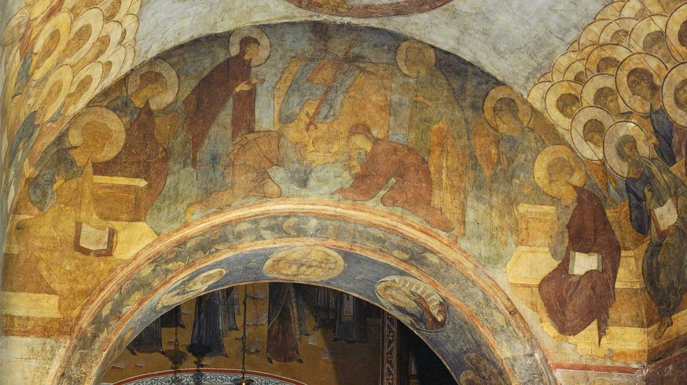 The Last Judgement by Andrei Rublev (painted in 1408)
