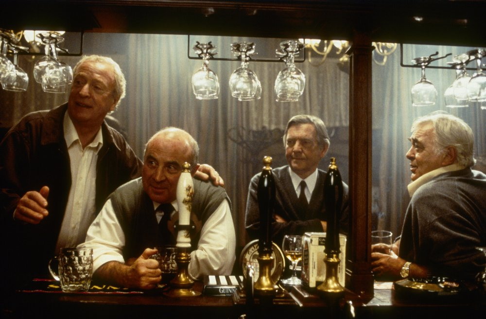 Hoskins was reteamed with Michael Caine, as well as David Hemmings and Tom Courtenay, for the 2001 film Last Orders, about a group of ageing men on a journey to fulfil a late friend's dying request