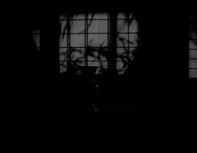 Possibly the most speculated-upon pillow shot of Ozu's career. This shot of the vase towards the film's heartbreaking climax has been viewed as a symbol of femininity, of stasis, of containment of emotions, of delicate Japanese tradition…