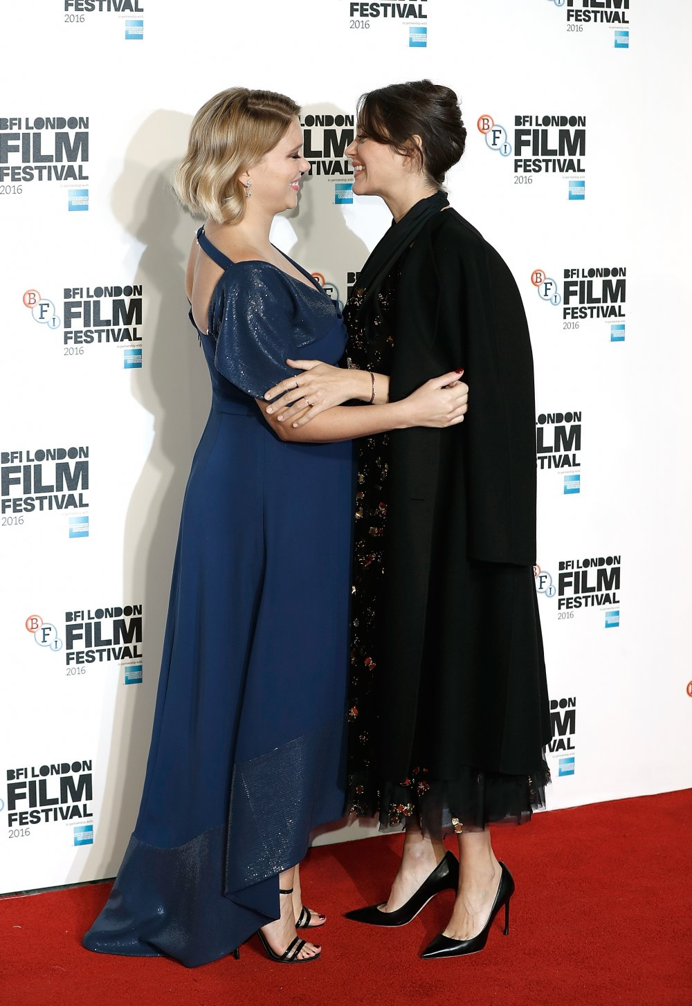 Lea Seydoux and Marion Cotillard attend the BFI Flare Special Presentation screening of It's Only the End of the World at at Odeon Leicester Square