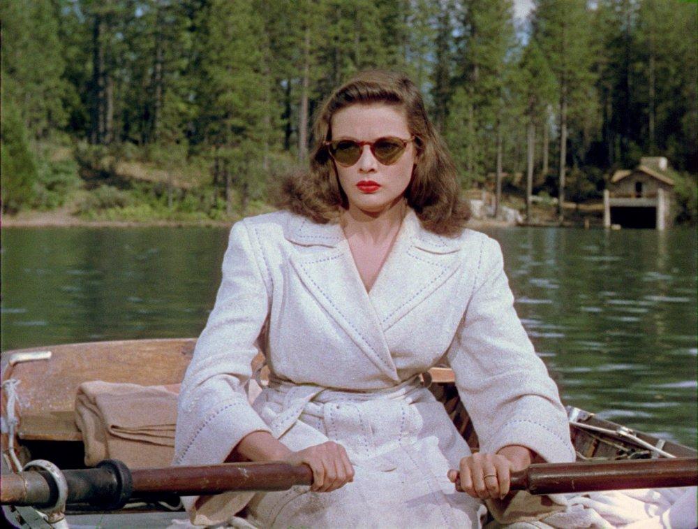 Ellen Berent (Gene Tierney) in Leave Her to Heaven (1946)