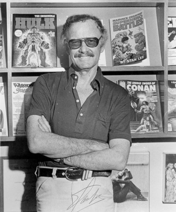 Stan Lee at Marvel Comics