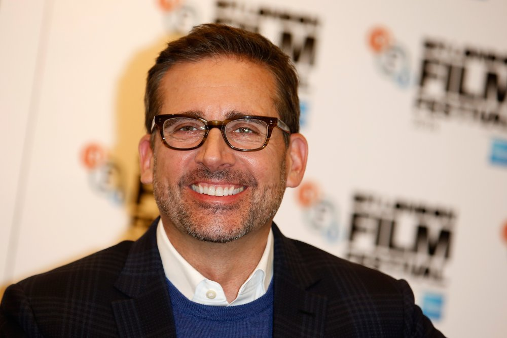Actor Steve Carell attends the press conference for Foxcatcher during the 58th BFI London Film Festival