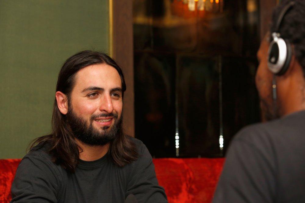 Gente de bien director Franco Lolli attends the Filmmaker Tea during the 58th BFI London Film Festival