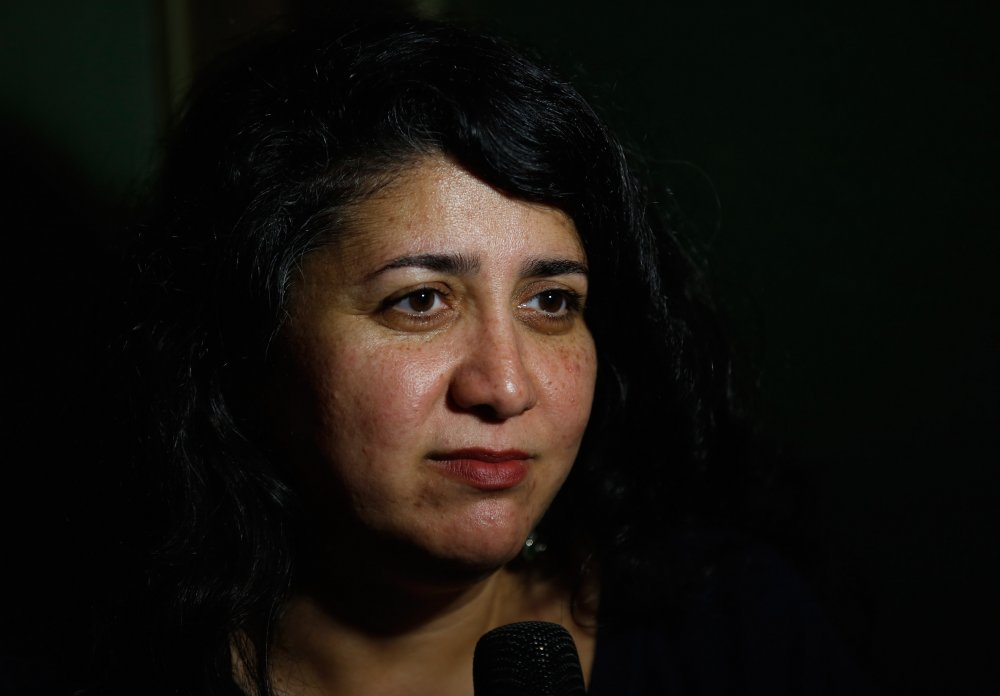 Macondo director Sudabeh Mortezai attends the Filmmaker Tea at the 58th BFI London Film Festival