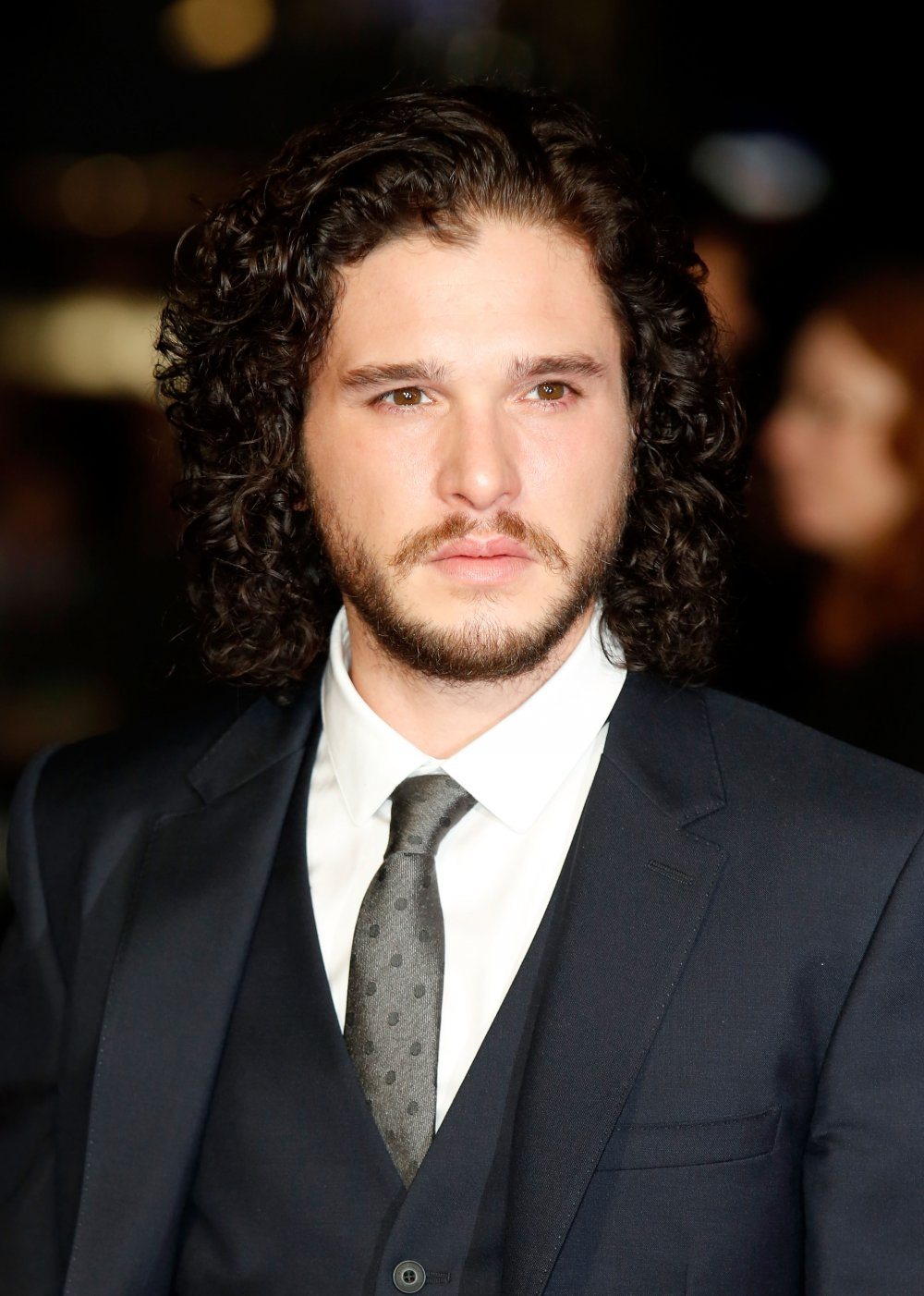 Kit Harington on the red carpet for Testament of Youth during the 58th BFI London Film Festival