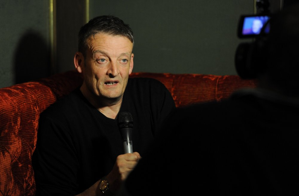 Director of The Goob, Guy Myhill attends the Filmmaker Teas during the 58th BFI London Film Festival