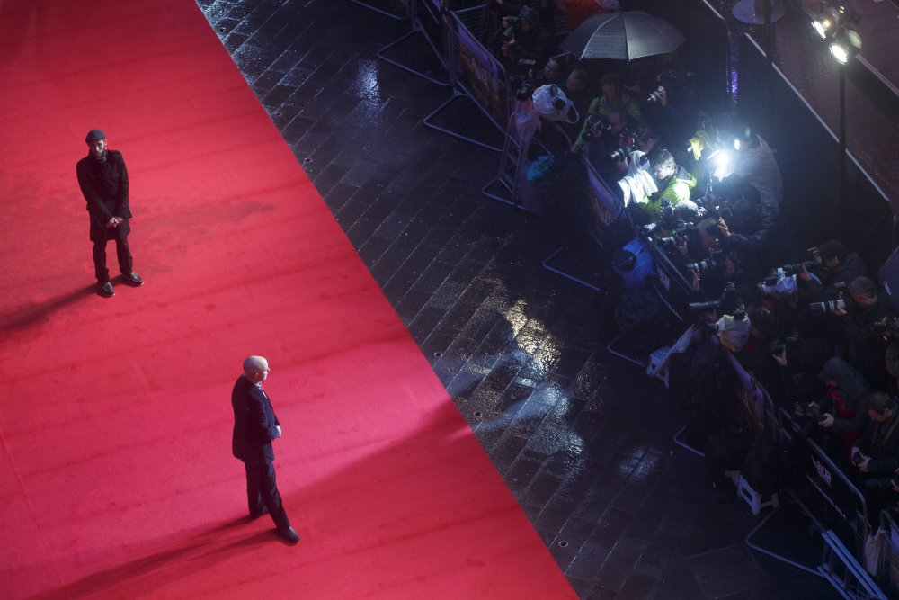 Nick Hornby attends the premiere of Wild as part of the 58th London Film Festival