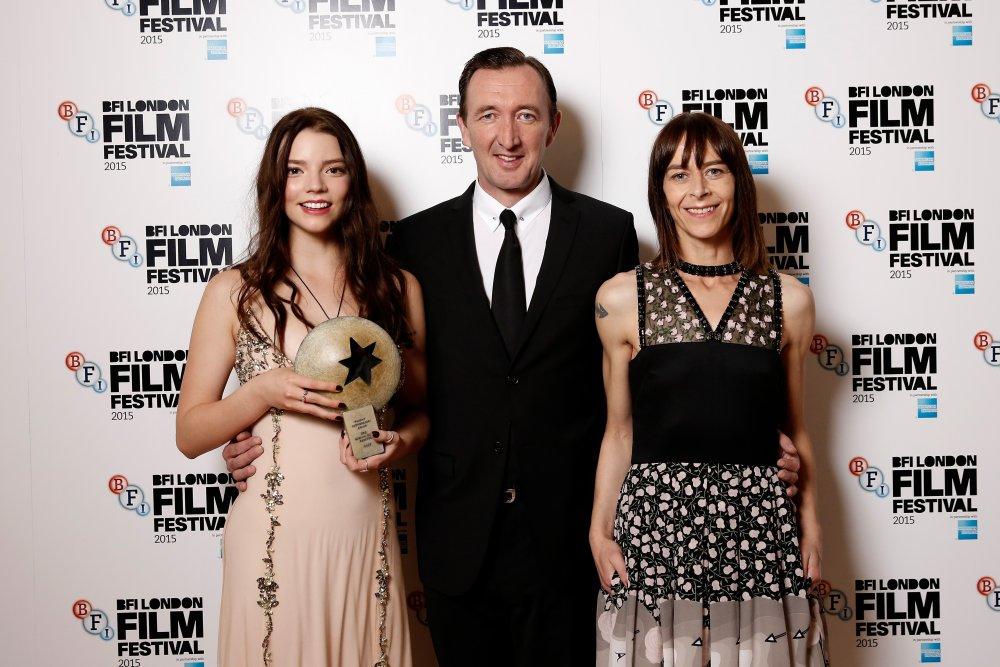Anya Taylor-Joy, Ralph Ineson and Kate Dickie, stars of Sutherland Award-winner The Witch