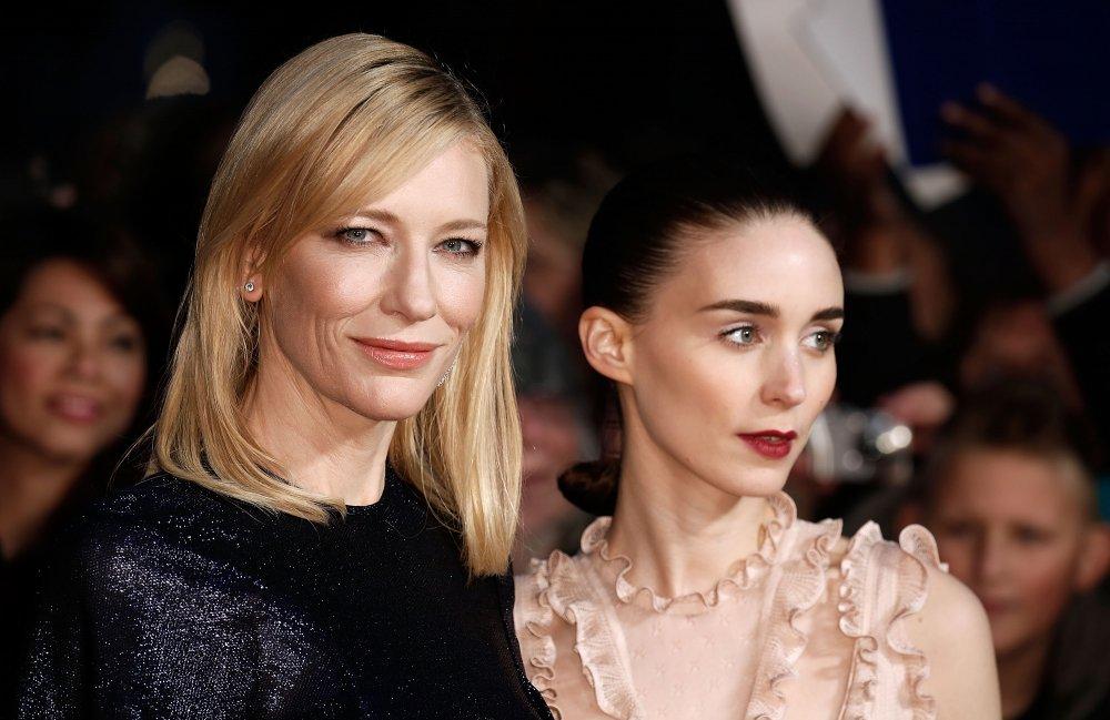 Cate Blanchett and Rooney Mara attend the Carol America Express Gala