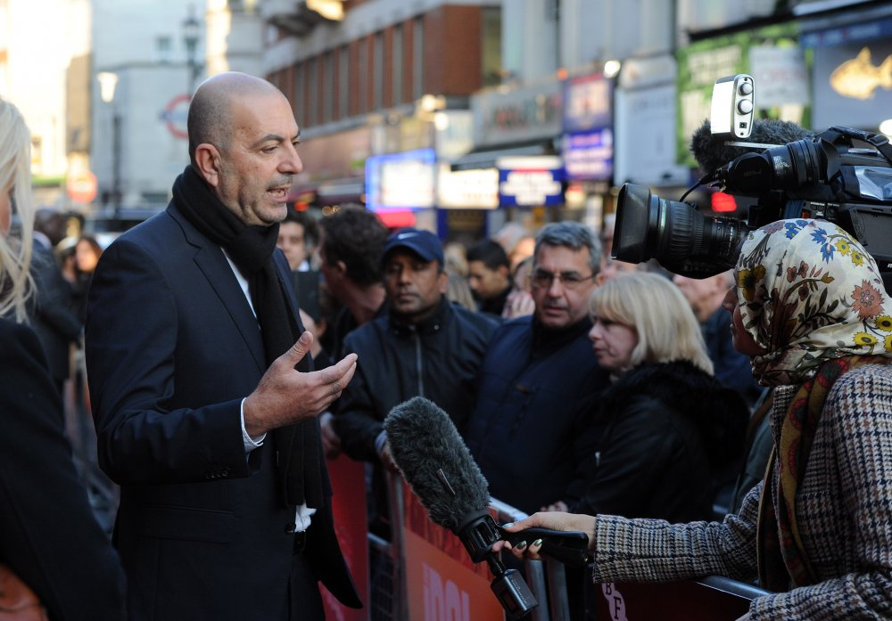 Director Hany Abu-Assad attends The Idol Sonic Gala, in association with MOBO Film
