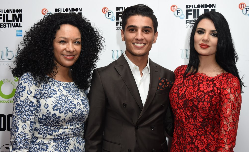 Kanya King, Mohammed Assaf and Veena Malik attend The Idol Sonic Gala, in association with MOBO Film