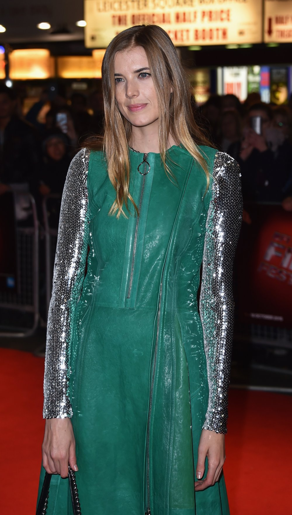 Agyness Deyn at the Sunset Song premiere
