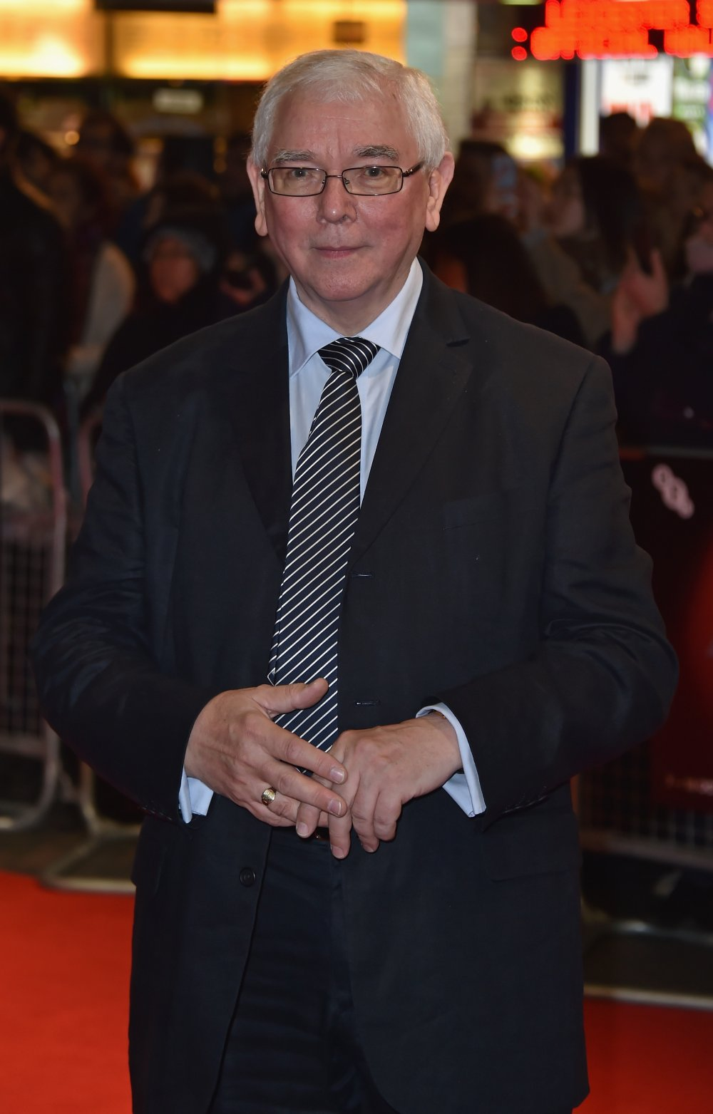 Terence Davies at the Sunset Song premiere