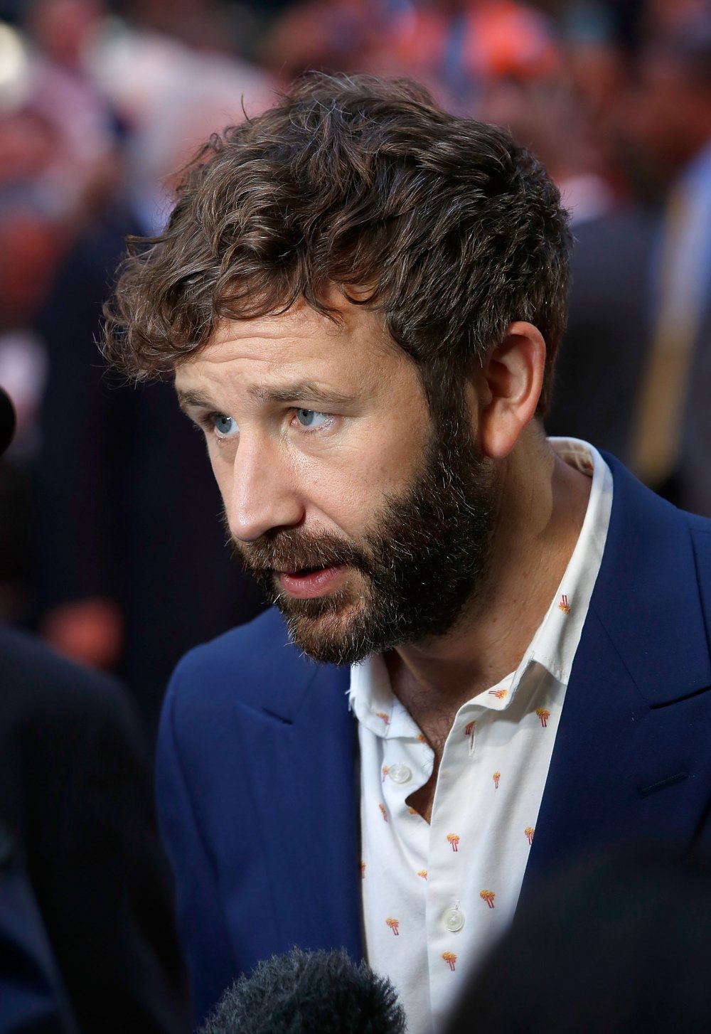Chris O'Dowd attends the The Program screening, during the BFI London Film Festival