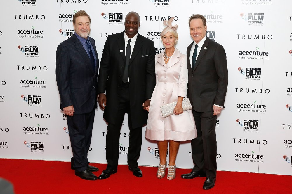 John Goodman, Adewale Akinnuoye-Agbaje, Helen Mirren and Bryan Cranston