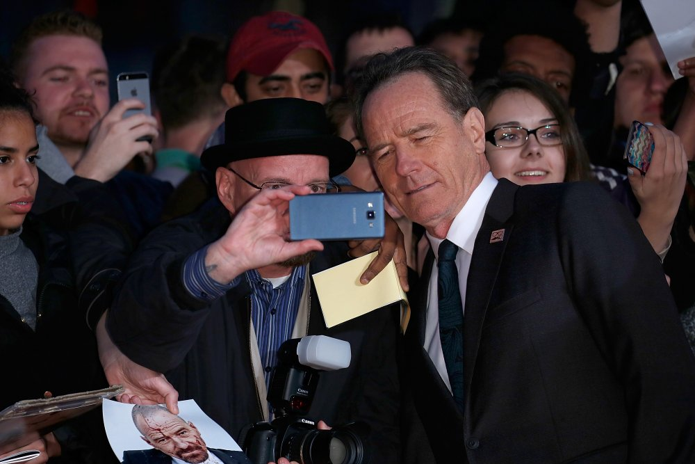 Bryan Cranston and fans