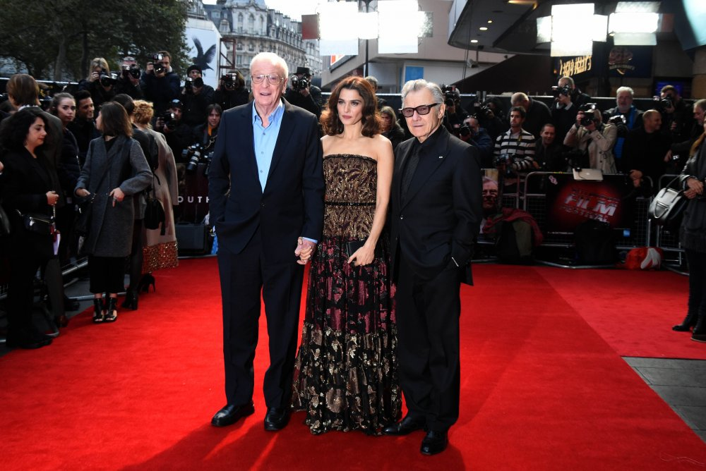 Michael Caine, Rachel Weisz and Harvey Keitel at the Youth premiere