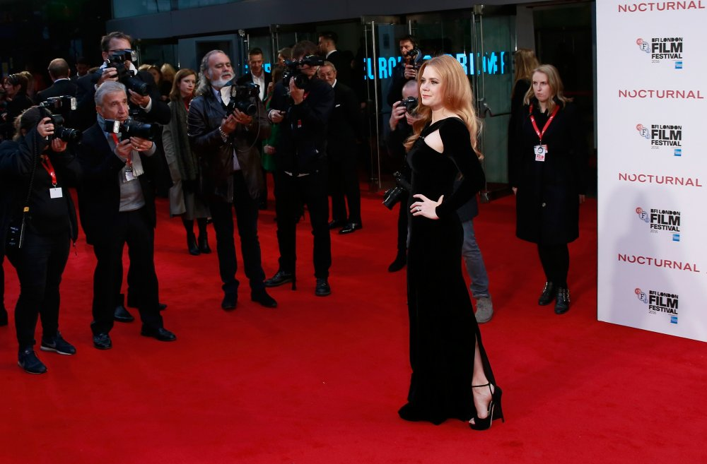 Amy Adams attends the Nocturnal Animals Headline Gala during the 60th BFI London Film Festival