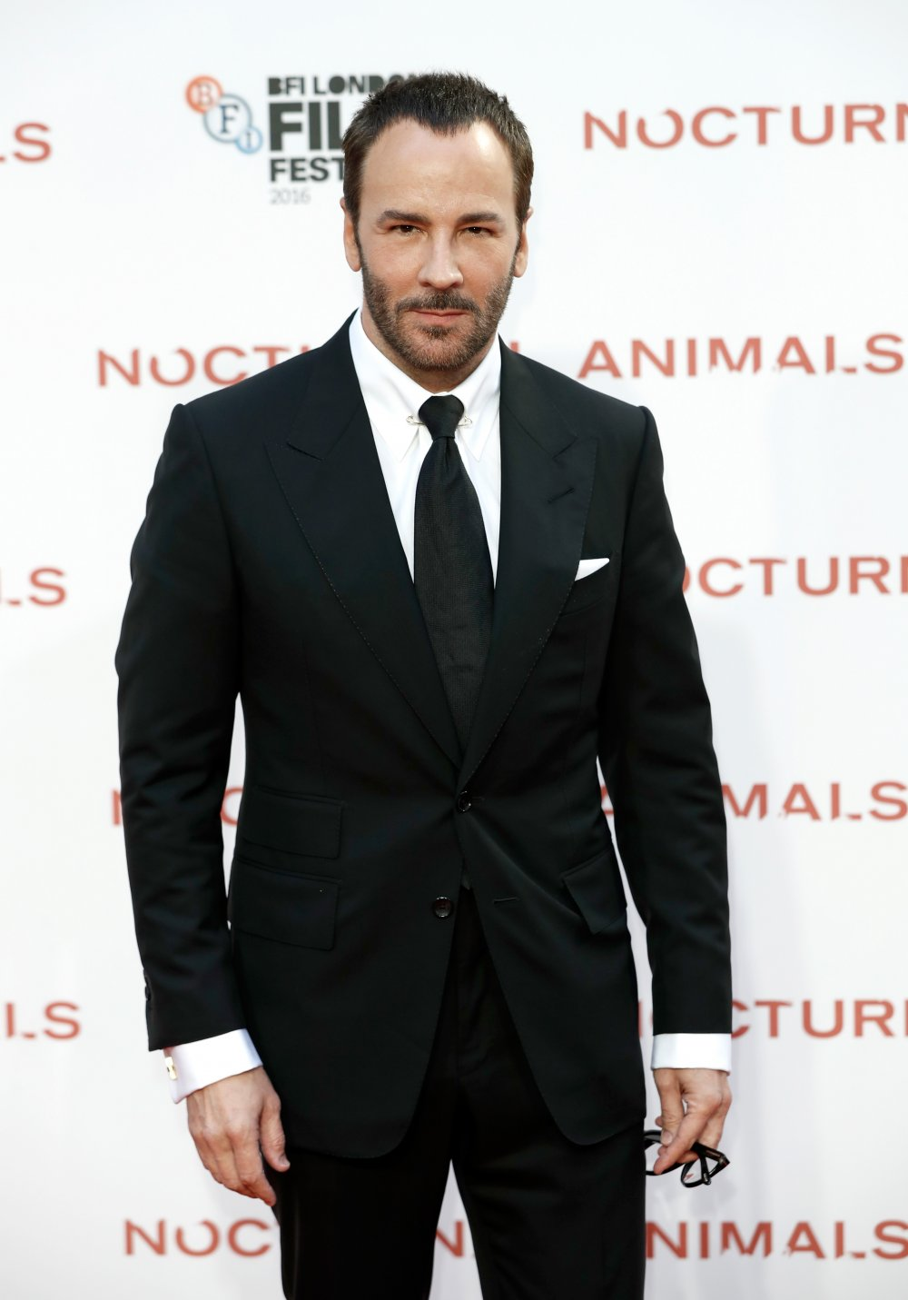 9a766308fa2 Tom Ford attends the Nocturnal Animals Headline Gala during the 60th BFI  London Film Festival