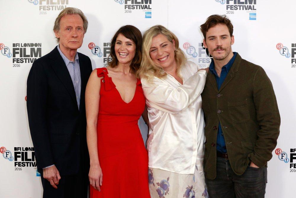 Bill Nighy, Gemma Arterton, Lone Scherfig and Sam Claflin at the Their Finest photocall during the 60th BFI London Film Festival