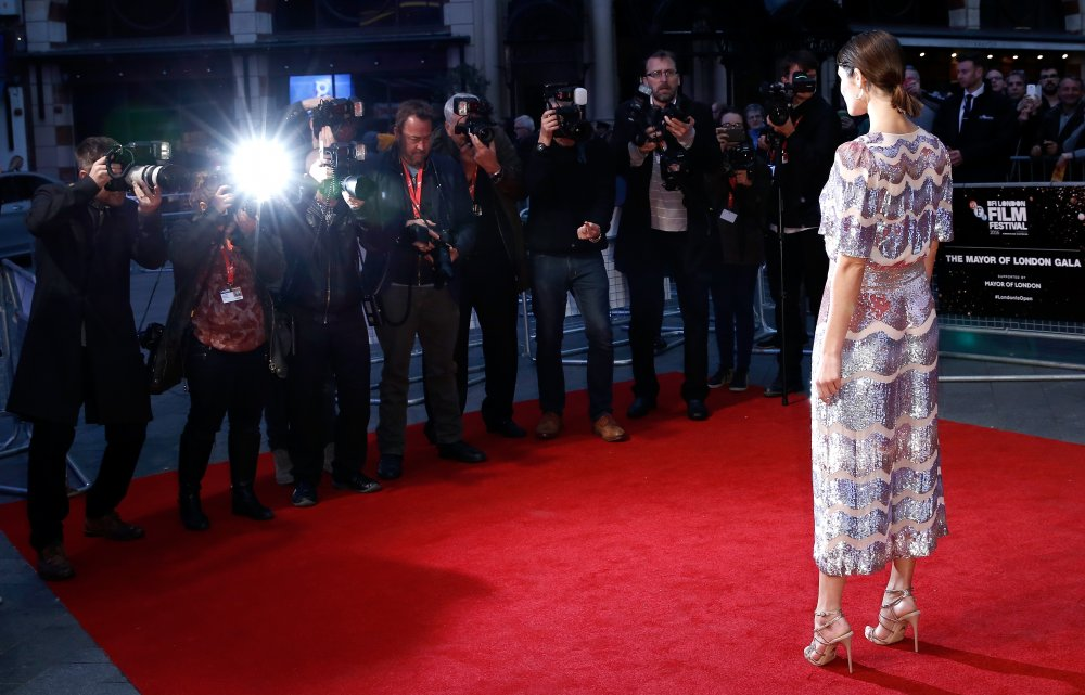 Gemma Arterton attends the Their Finest Mayor of London's Gala screening during the 60th BFI London Film Festival