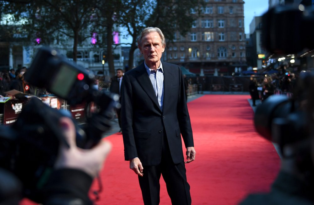 Bill Nighy attends the Their Finest Mayor of London's Gala screening during the 60th BFI London Film Festival
