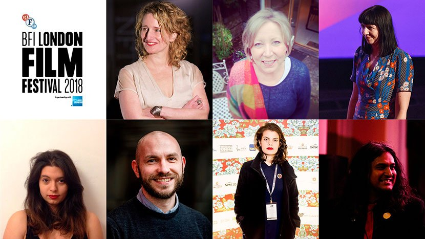 New team for 62nd BFI London Film Festival: Tricia Tuttle, Anne-Marie Flynn, Kate Taylor, Tegan Vevers, Michael Blyth, Ana David, Manish Agarwal