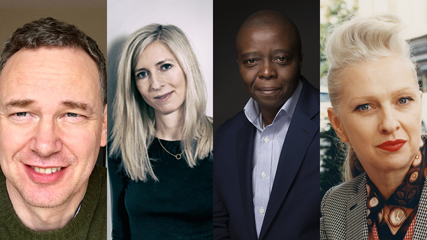 LFF 2019 jurors (L to R): Wash Westmoreland, Jessica Hausner, Yance Ford and Jacqui Davies